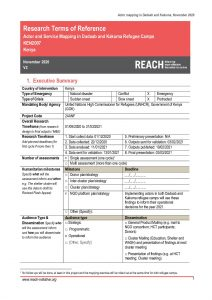 REACH_Kenya_Terms of Reference_Dadaab and Kakuma Refugee Camps Actor and Service Mapping_November 2020