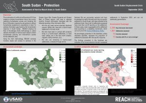 Assessment of Hard to Reach Areas: Protection, September 2020