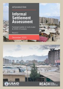 Informal Settlements Monitoring (ISETs) Round 2, Factsheet Booklet of Multi-Cluster and COVID-19 Analysis, December 2020