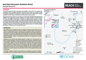 SOM_Situation Overview_Gedo Rapid Needs Assessment - Baardheere District_November 2017