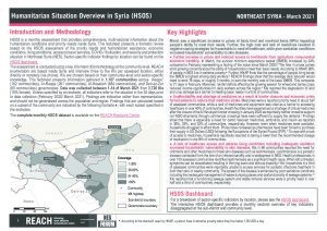Humanitarian Situation Overview in Northeast Syria – March 2021