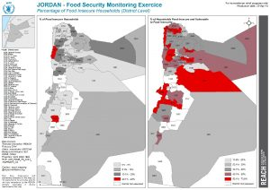 JOR_Map_CFSME_FoodInsecureHouseholdsatDistrictLevel_10Apr2014_A4