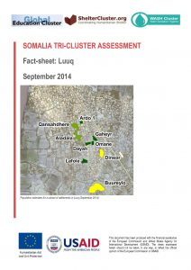 SOM_Tri-Cluster_Assessment_Luuq_Factsheet_26Nov_2014