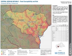 Ombella M'Poko, CAR (Flood Risk Map 26JUNE2020)