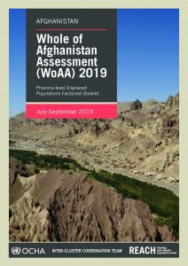 AFG_Province Factsheet_WoAA July September 2019