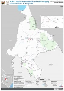 REACH KEN MAP SamburuNorth Infrastructure and service mapping education August2020 A1