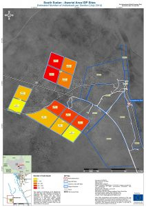 SSD_MAP_DisplacementCrisis_Awerial_NbIndividualsperSection_29Jul2014_A3