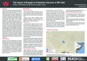 REACH_SOM_Factsheet_Protection_Assessment_Boodan 1 IDP Site_Baidoa