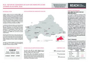 Joint Market Monitoring Initiative (JMMI) Factsheet, Central African Republic – March 2020