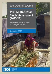 Rohingya Response, Host Community: Joint Multi-Sector Needs Assessment Report, 2019