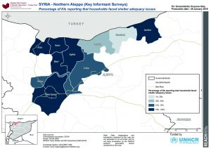 SYR_MAP_SNFI 2018 Shelter Adequacy Northern Aleppo_28Jan2019_A4