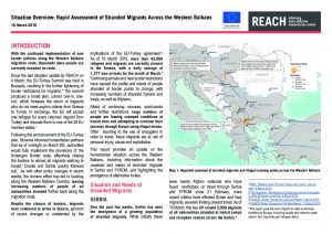 SRB_Rapid Assessment _European Migration: Stranded Migrants in Europe_16 March 2016