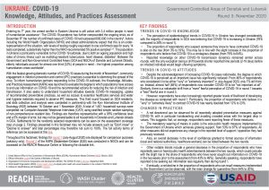 COVID-19 Knowledge, Attitudes and Practices Assessment (KAPA) in Government-Controlled Areas of Donetsk and Luhansk, round 3 situation overview – November 2020