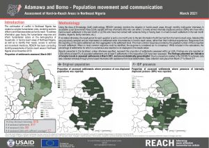 Hard to Reach Assessment in Northeast Nigeria, Population Movement and Communication Factsheet, March 2021