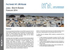 SSD - UN House Juba - Relocation and Community Leadership