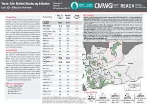 Yemen Joint Market Monitoring Initiative, Situation Overview - April 2021