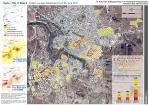 City of Daraa - Shelter Damage Assessment as of 4th June 2015