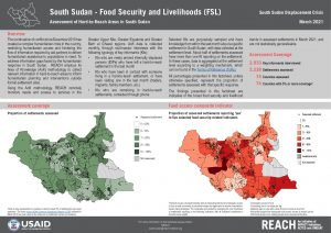 REACH SSD Factsheet Assessment of Hard to Reach Areas FSL March 2021