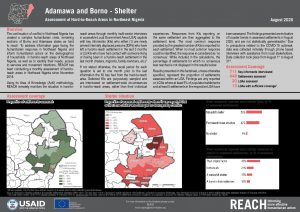 Hard-to-Reach, Shelter and NFIs, Borno and Adamawa state, Nigeria, August 2020