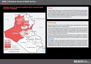 REACH COVID-19 Health Services Perception Assessment in Iraq Factsheet - Returnees