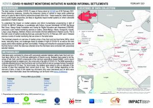 Nairobi Market Monitoring Situation Overview - February 2021