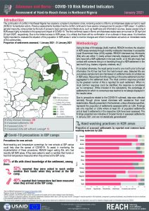 Hard to Reach Assessment in Northeast Nigeria, COVID-19 Factsheet, January 2021