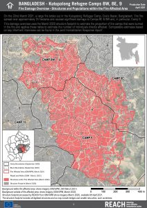 Fire Damage Overview - Shelters and Populations Factsheet, April 2021