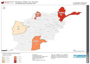 REACH AFG ESNFI Map IDP renting Dec2019