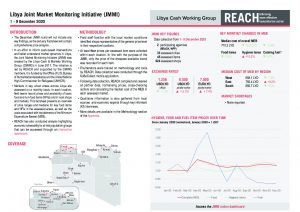 Libya Joint Market Monitoring Initiative, Situation overview, December 2020