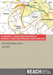 IRQ_NorthernIraq_Report_VulnerabilityNeedsandIntentionsofIDPs_July2014