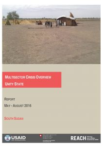 SSD_Report_Multisector Crisis Overview - Unity State_August 2016