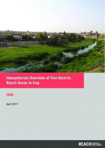 IRQ_Situation Overview_Humanitarian Overview of Five Hard to Reach Areas_April 2017
