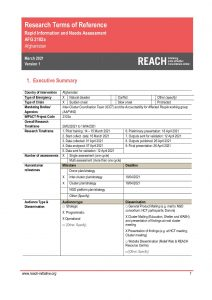 AFG_Terms of Reference_Rapid Information and Needs Assessment_March 2021