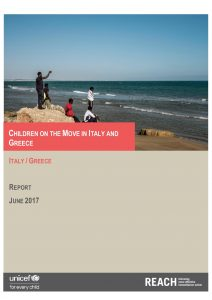 GRC_ITA_Report_Children on the move in Italy and Greece_June 2017