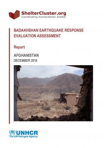 AFG_Report_Badakhshan Earthquake Evaluation Response Assessment_December 2016