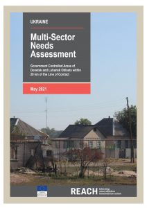 2020 Multi-Sector Needs Assessment in Government-Controlled Areas of Donetsk and Luhansk Oblasts within 20 km of the Line of Contact