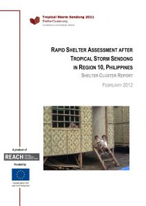 Rapid Shelter Assessment Report after tropical storm Washi