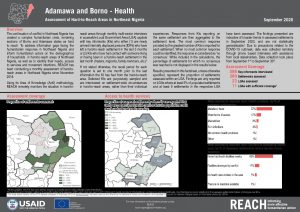Situation in hard-to-reach areas: Health, Adamawa and Borno state - September 2020