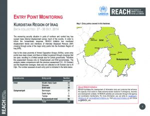 IRQ_Factsheet_Entry Point Monitoring 27 to 30 October 2014