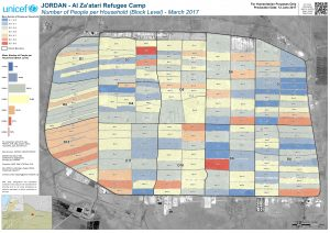 REACH_JOR_Map_Zaatari_PWIA_Household_Size_Mar2017