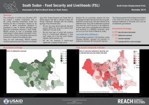 Assessment of Hard to Reach Areas, FSL Sectoral Overview, November 2019