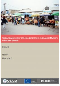 UKR_Report_Thematic Assessment Livelihoods_March 2017