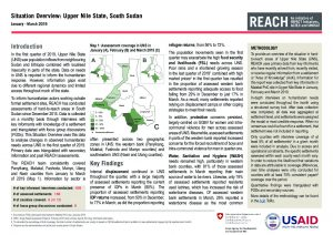 SSD_Situation Overview_Upper Nile_January-March 2019