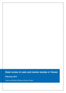 YEM_SDR_Desk Review Cash Studies_February 2017