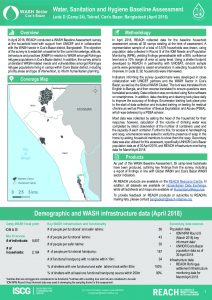 BGD_Factsheet_Wash HH Survey LEDA D April 2018