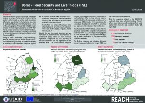 Hard-to-Reach FSL Factsheet in Borno state, Nigeria - Apr2020