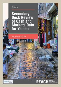 Secondary Data Review of Cash and Markets Data For Yemen - November 2019