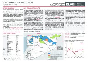 SYR_Situation Overview_Market Monitoring Exercise NW_December 2018
