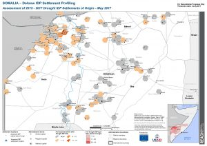 reach som map doloow drought idp 2015 - 2017 aoo May2017 a3