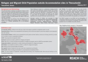 GRC_FS_Refugee and migrant children in urban areas in Thessaloniki_February 2017